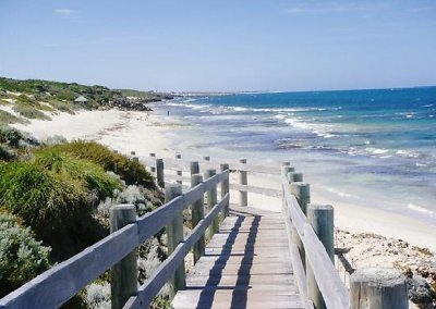 Burns Beach board walk